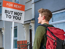 Seven out of 10 homeless young people living in temporary accommodation are unable to move on due to