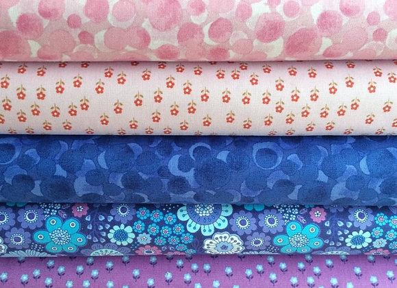 Fabrics - Flower Child and Bumbleberries Fat Quarter Bundle