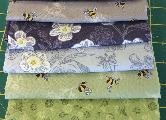 Fabrics - Botanic Garden Fat Quarter Bundle