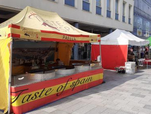 The Continental Market is back in Crawley Town Centre