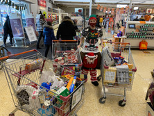 Sainsbury support over the festive season