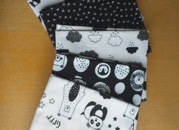 Fabrics - Monochrome Zoo