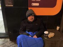Edinburgh rough sleeper walking nearly 900 miles tells of isolation felt by homeless