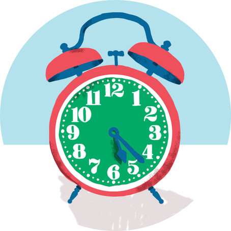 Reminder - New Bell Times!