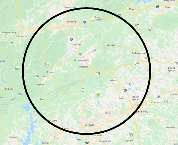Mountain Property Real Estate Service Area