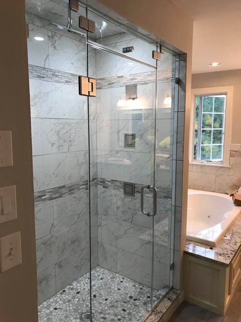 Shower Door Steam Vent