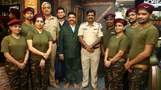Bollywood Glamour, Top Officials Grace Opening of Shiva's SALUTE at upscale Vile Parle East