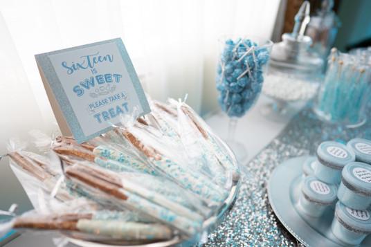 Baby Blue Candy Bar
