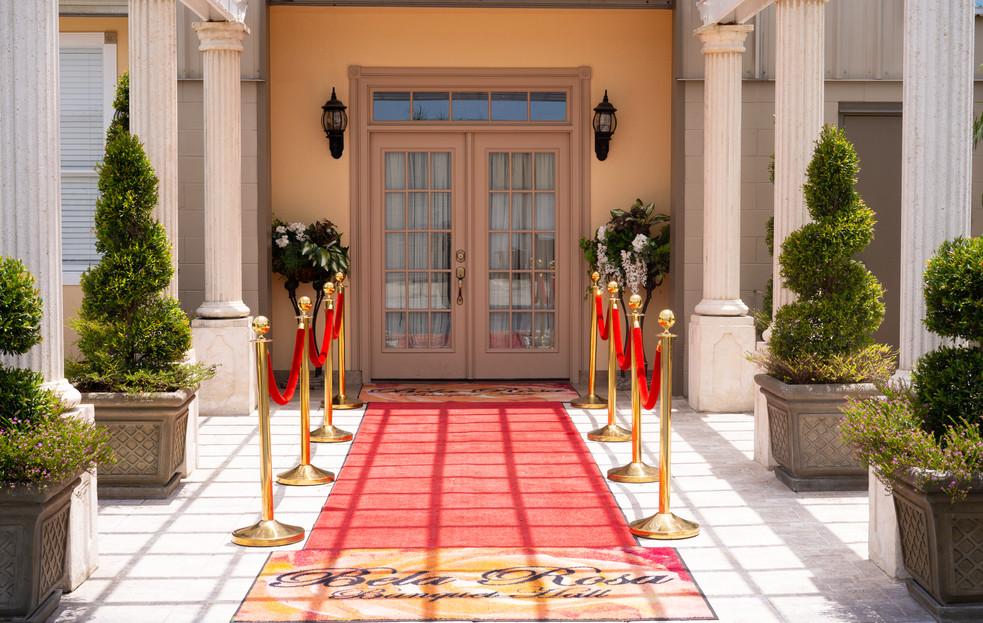 BelaRosa Entrance, Outside