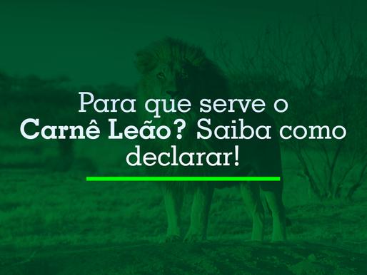 Para que serve o Carnê Leão?