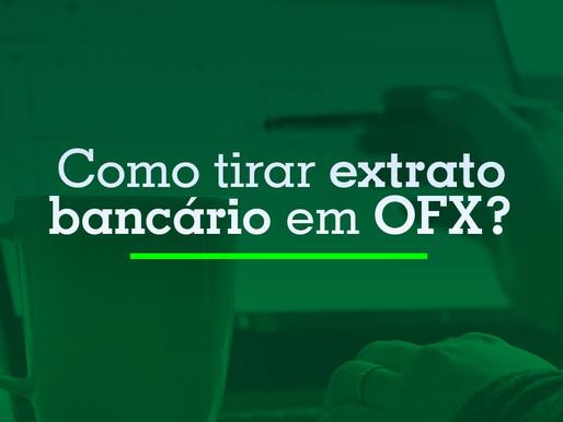 Como tirar extrato bancário em OFX
