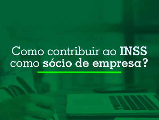 Como contribuir ao INSS como sócio de empresa?
