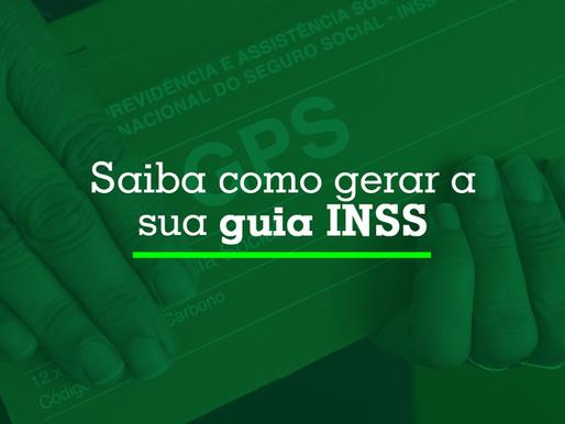 Saiba como gerar sua guia INSS
