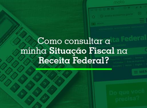 Como consultar a minha situação fiscal na Receita Federal?