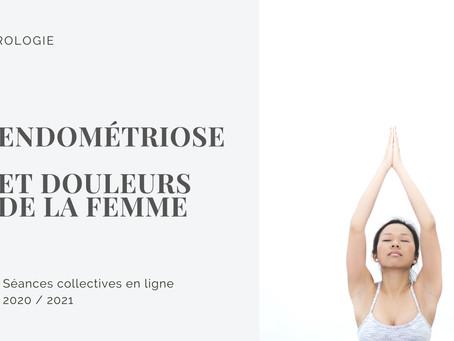 Sophrologie et endométriose : groupe en ligne 2020/2021