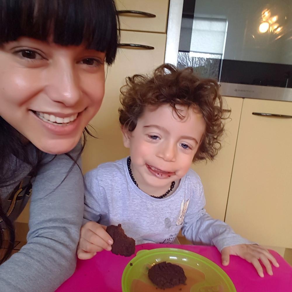 wellfitmum gf df vegan choc cookies gluten free dairy free peanutbutter chocolate cookies