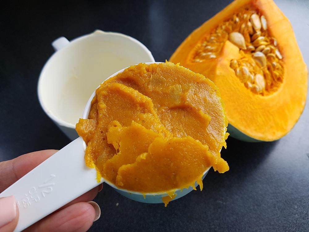 Pumpkin Mugcake Vegan Vegetarian Mug Cake Glutenfree Dairyfree GF DF