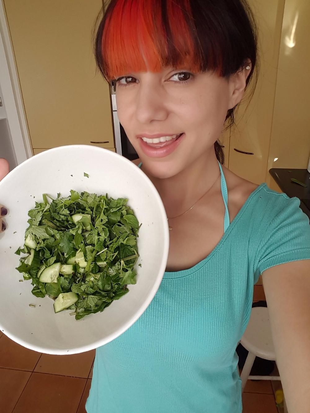 chopped green bowl vegan mayo tofu mayonnaise vegetarian mayonaise lazy asian dressing wellness fitness mummy blogger mum blog auckland nz healthy recipes toddler meals