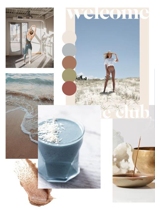 Coastal Mood Board | Branding