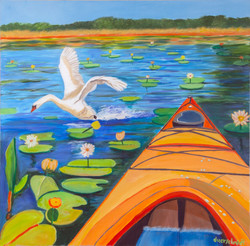 Peconic Lily Pad Paddle