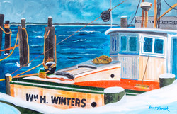 Wm. H. Winter's Fishing Boat