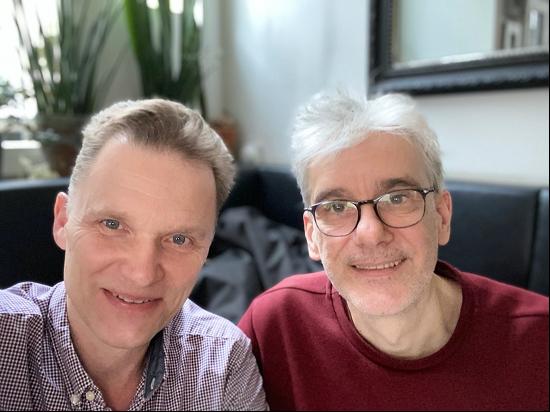 Christian Thiel und Stefan Waldhauser