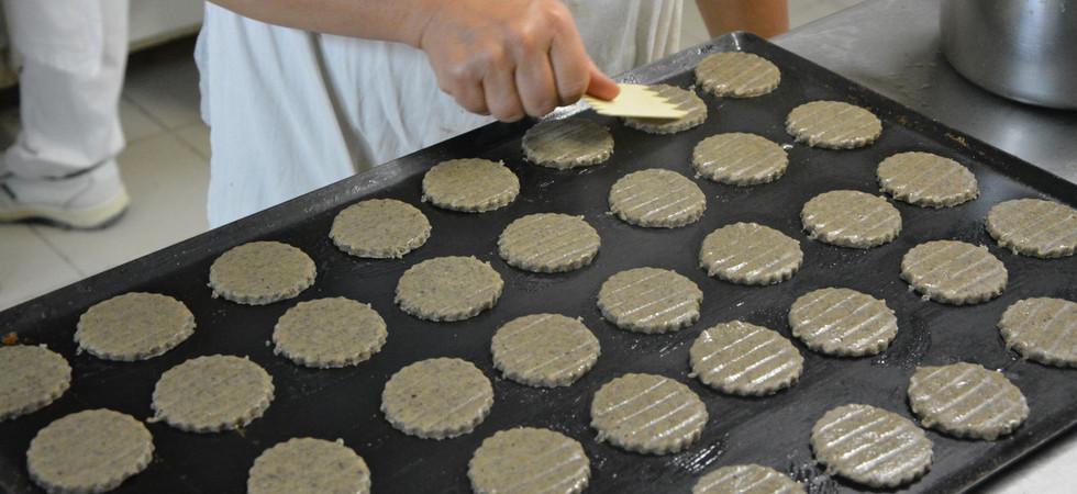 Préparation de galette de blé noir