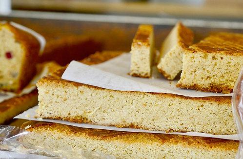 Le gâteau Breton nature à la coupe