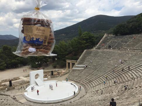 Grèce Théâtre d'Epidaure 2018