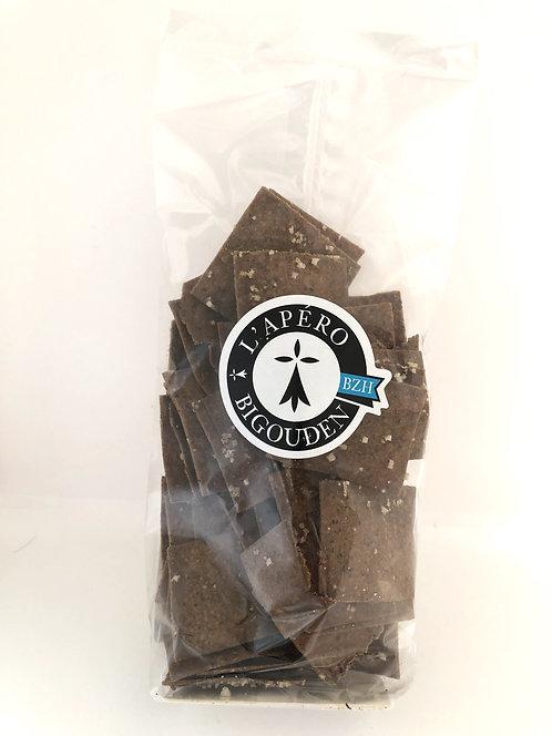 Crackers de blé noir au Sel de Guérande