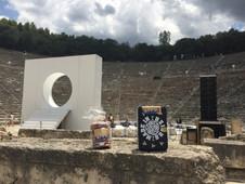 Grèce Péloponnèse Théâtre d'Epidaure Juillet 2018