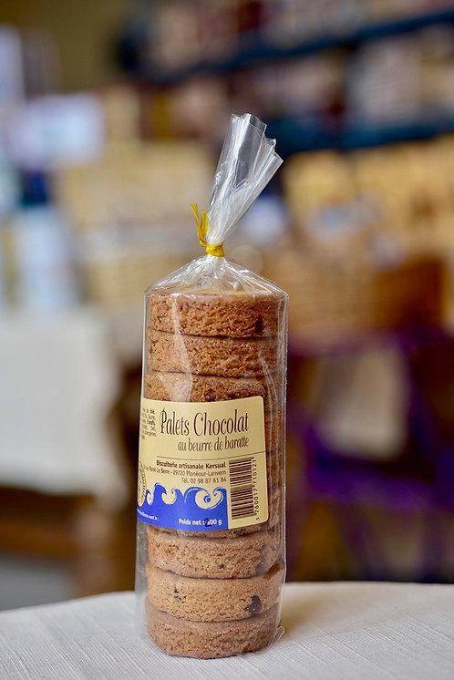 Le Palet chocolat au beurre de baratte (Sachet de 200 Gr)