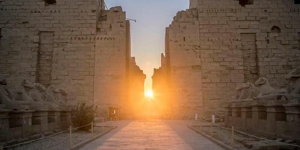 Winter Solstice Karnak to Hatshepsut