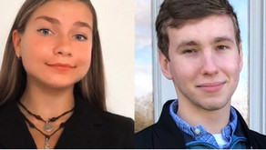 Youth movement: 2 members of governor's STEM Scholars Program make plea for public to get vaccinated