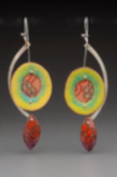 green oval enamel earrings.jpg