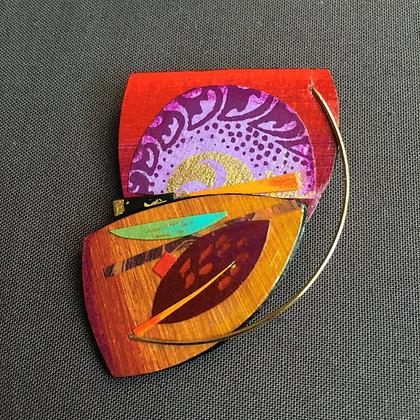 Collage pin
