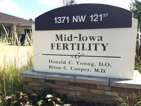 Our first trip to the fertility clinic