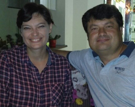 Vika and Denis Artiyukhin, Vladivostok, taken 2016