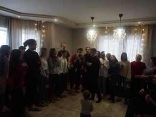 Teens Baptized in Minsk and St. Petersburg: A New Year's Gift of Salvation