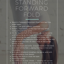 Standing Forward Fold