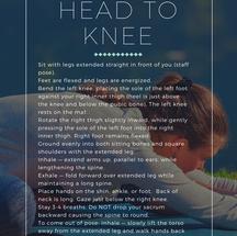 Head to Knee
