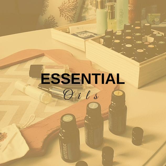 Tools:  Essential Oils