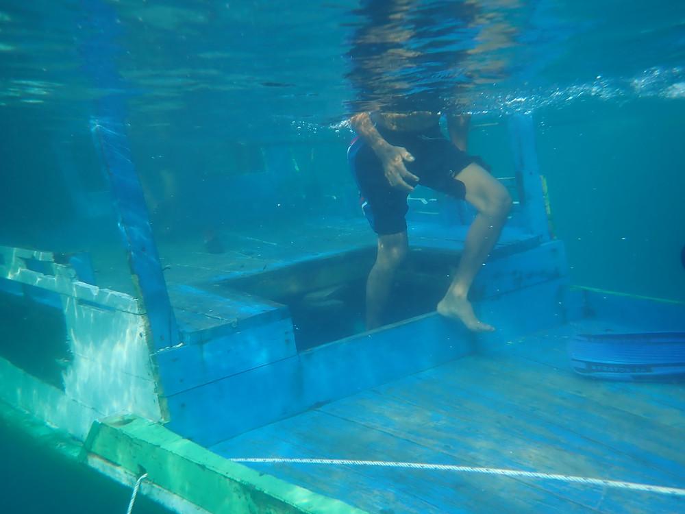 wreck diving togean