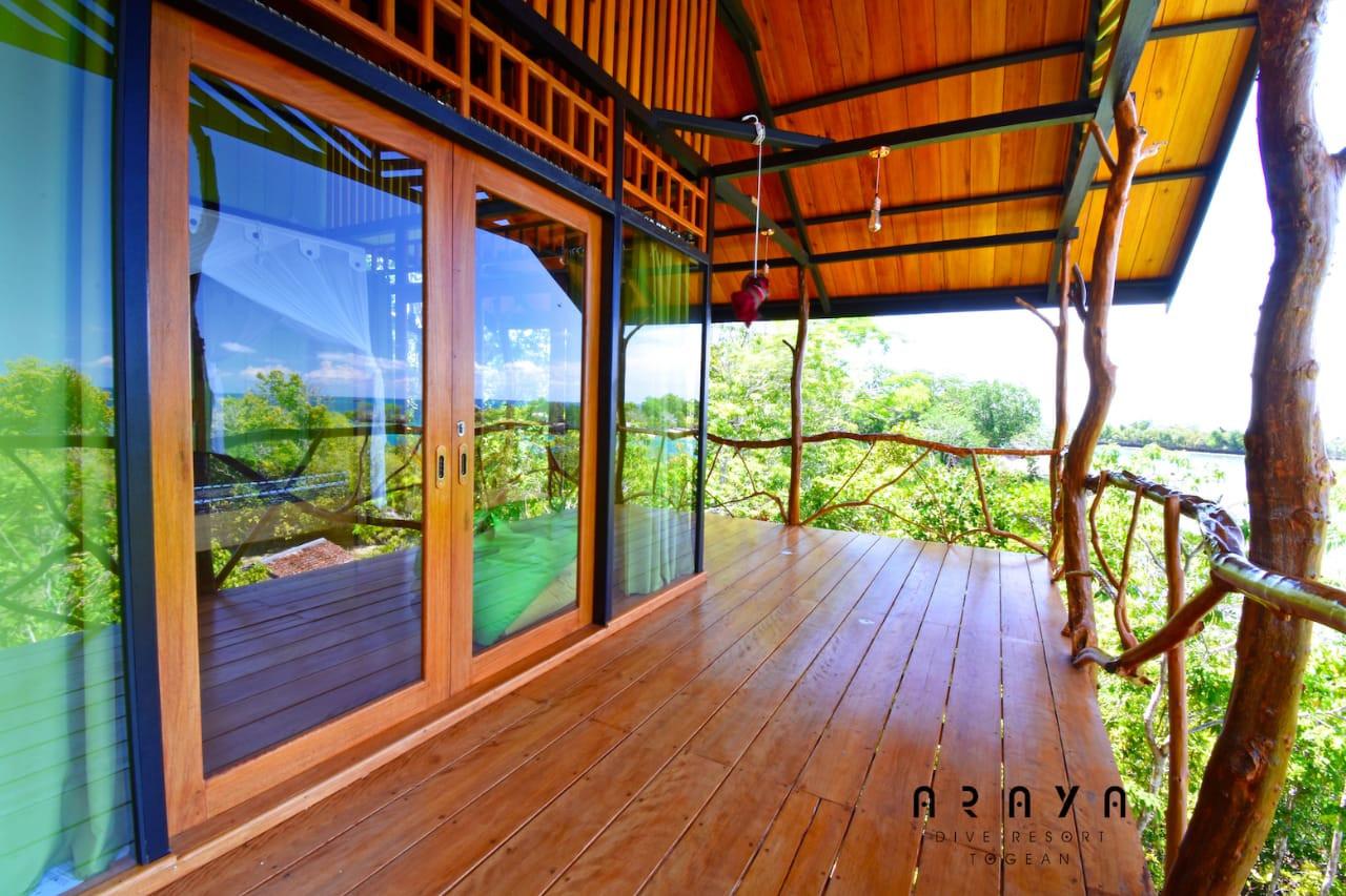 tree house terrace