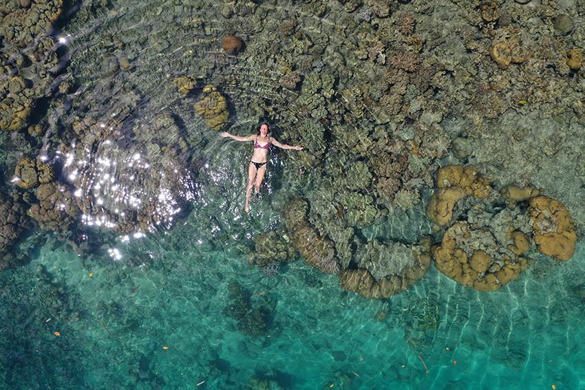 Enjoy the turquise sea