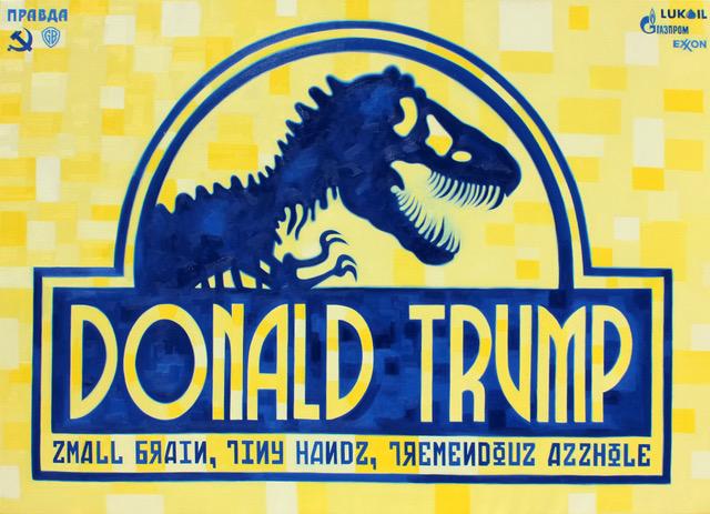 Donald Trumo Small Brain