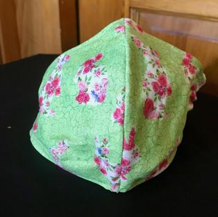 P20 -Pink Rose Bunnies - sml, medium-petite $15.00