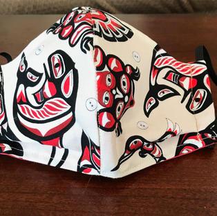 #1-26 Coast Salish Designs- med, lrg $18.00