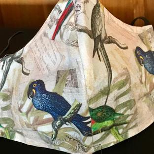 2-23  Hyacinth macaw - medium-petite,lrg $20.00