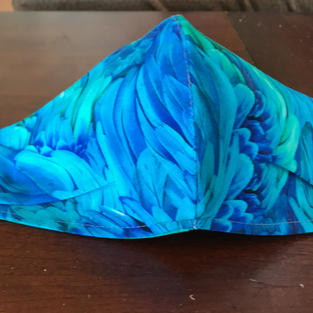 #2-1 Macaw Feathers- sml, med, lrg $15.00